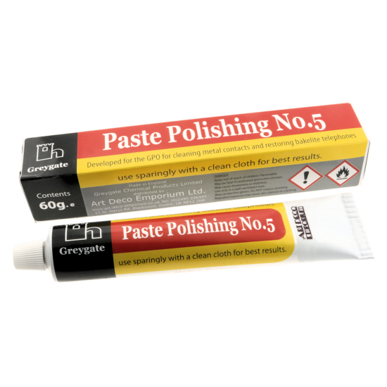 Hard Plastic & Vintage Bakelite Restoration and Polishing Paste.