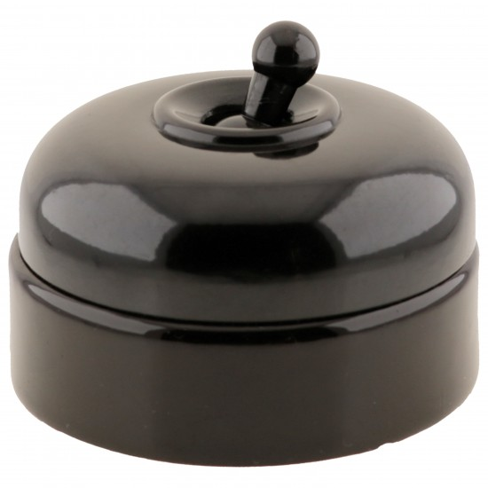 FRABRICATED Industrial Domed Toggle Light Switch 2Way