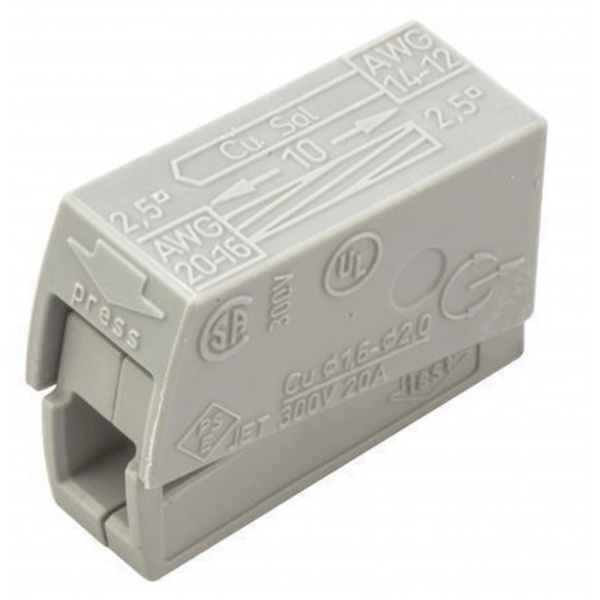 Wago 224-101 Lighting Connector; Standard Version