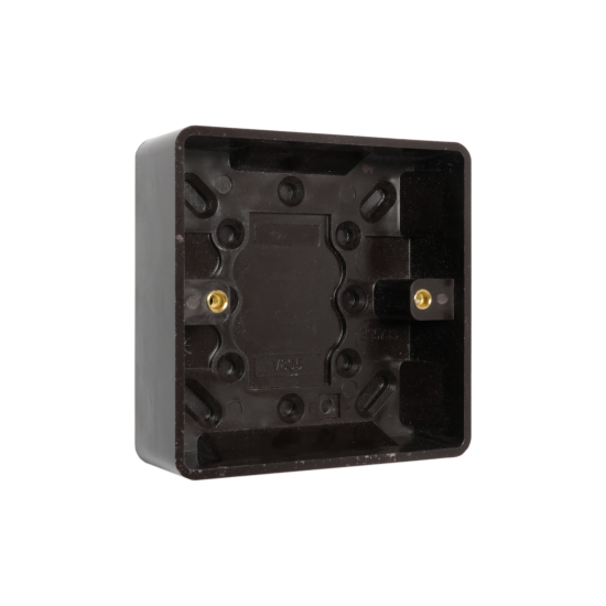 Brown Bakelite Switch or Socket surface Mount 1Gang 35mm