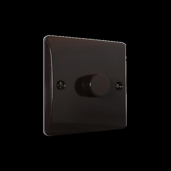 Brown Bakelite Light Dimmer Switch 1Way 1Gang