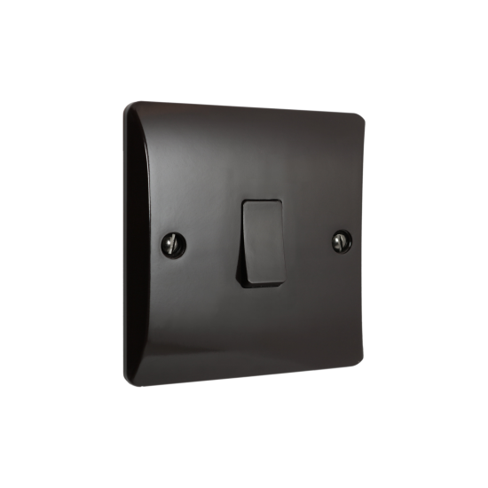 Wall Switch 2 Way 1 Gang 10 Amp in Brown Bakelite