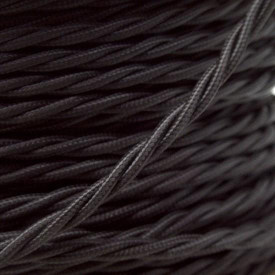 All Brown Bakelite Ceiling Pendant Kit & B22 Bulb Holder with 1M Black Flex
