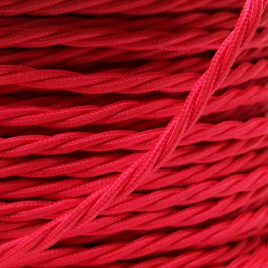 All Brown Bakelite Ceiling Pendant Kit & B22 Bulb Holder with 1M Bright Red Flex